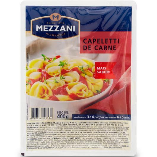Capeletti de carne Mezzani 400g - Imagem em destaque