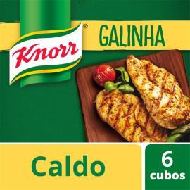 Caldo Knorr galinha 6 cubos 57g