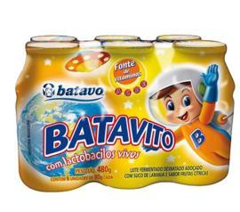 Leite fermentado Batavito 6x80g