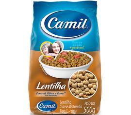 Lentilha Camil T1 500g