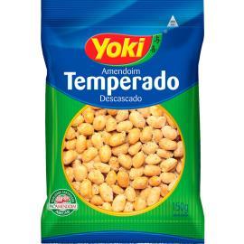 Amendoim descascado temperado Yoki 150g