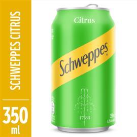 Refrigerante Schweeps citrus lata 350ml