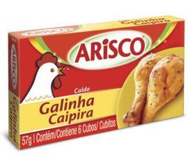 Caldo sabor galinha caipira Arisco 57g