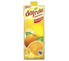 Néctar Dafruta premium sabor laranja 1L
