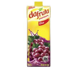 Néctar premium sabor uva Dafruta 1L