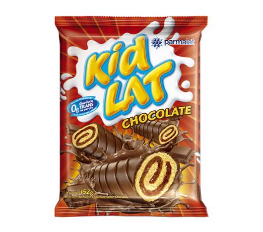 Bolinho Parmalat Kidlat com cobertura de chocolate 152g - Imagem em destaque