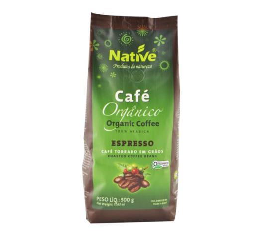 Café Native orgânico torrado grãos 500g - Imagem em destaque