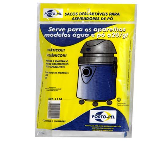 Saco para aspirador de pó Porto Pel Electrolux W.A 20 - Imagem em destaque