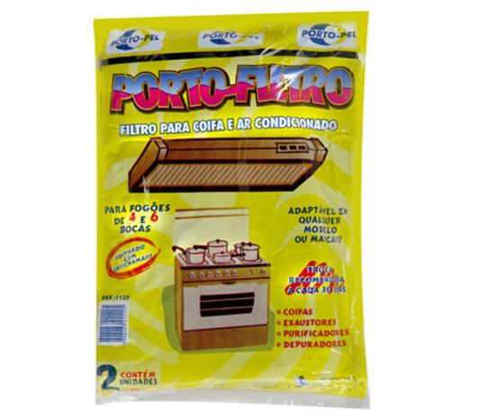 Filtro coifa Porto-Pel com 2 unidades - Imagem em destaque