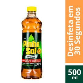 Desinfetante Pinho Sol original leve 500 pague 450ml