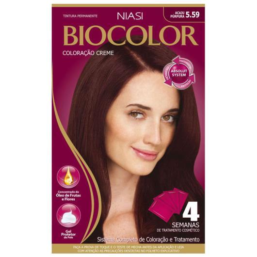 Coloração Biocolor cremer 5.59 Acaju Púrpura - Imagem em destaque