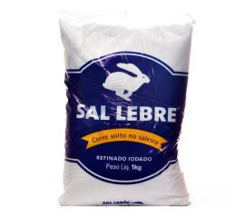Sal refinado Lebre 1kg
