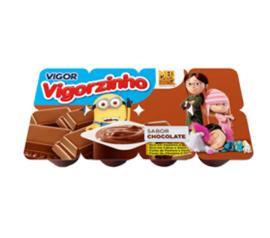 Sobremesa lactea Vigorzinho de chocolate 360g