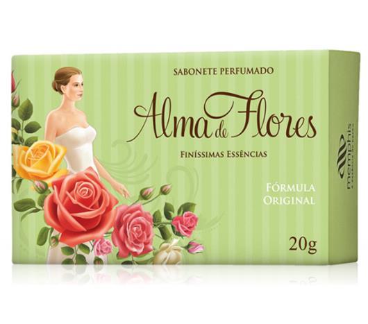 Sabonete Alma de Flores clássico 130g - Imagem em destaque