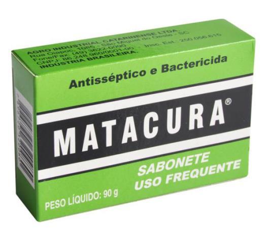 Sabonete Matacura Antisséptico 90g - Imagem em destaque