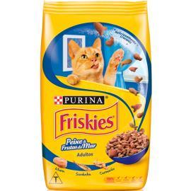 Ração para gatos sabor Peixe e frutos do mar Friskies 1kg
