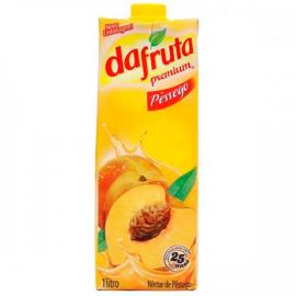 Néctar premium sabor pêssego Dafruta 1 litro