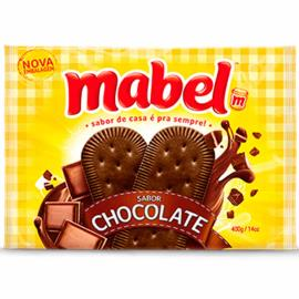Biscoito de chocolate Mabel 400g