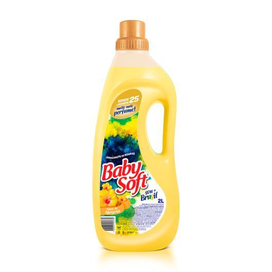 Amaciante Baby Soft amarelo 2L - Imagem em destaque
