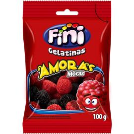 Bala jelly amoras bla&red Fini 100g