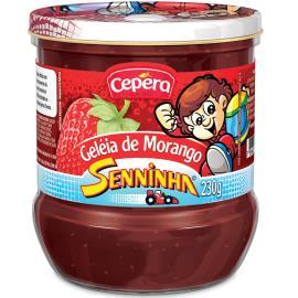 Geléia Cepêra senninha sabor morango 230g