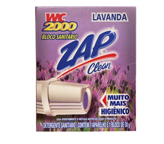 Desodorizante bloco sanitário lavanda aparelho WC2000 30g - Imagem em destaque
