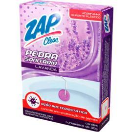 Desodorizante Zap Clean pedra sanitária lavanda 30g