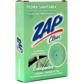Desodorizante Zap Clean pedra sanitária campestre 30g