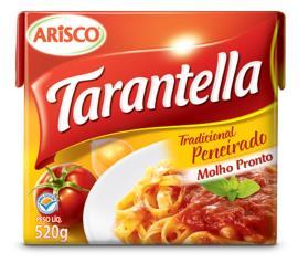 Molho de tomate Arisco Tarantella tradicional TP 520g