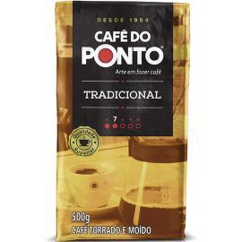 Café do Ponto Tradicional Torrado e Moído 500g