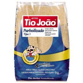 Arroz Parboilizado Tio João Saquinhos tipo1 1kg