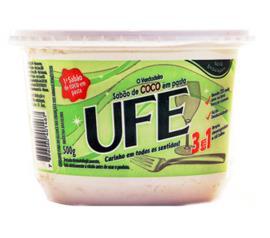 Sabão em pasta Coco Ufe 500g