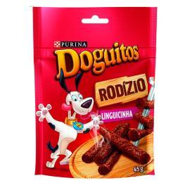 Petisco para cães Doguitos Purina Sabor Linguicinha 45g