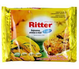 Barra de cereais Ritter sabor banana 75g