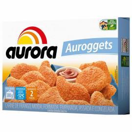 Empanado Aurora Auroggets Frango Tradicional 300g
