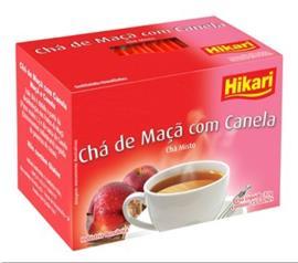 Chá Hikari maçã com canela 30g