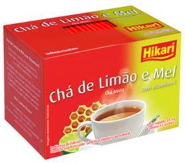 Chá Hikari limão com vitamina 22,5g