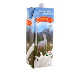 Leite de cabra Caprilat  light desnatado 1L