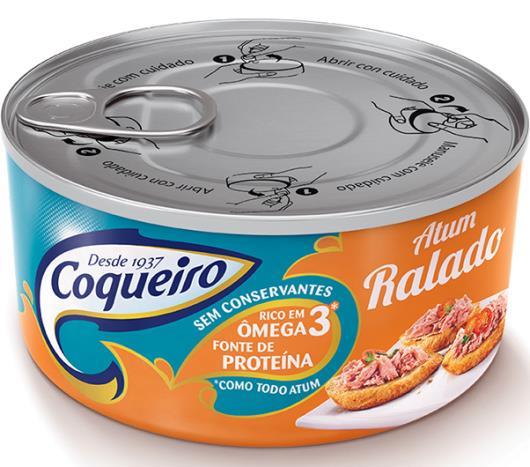 Atum Coqueiro ralado 170g - Imagem em destaque