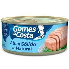 Atum Gomes da Costa sólido natural 170g