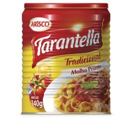 Molho de tomate Arisco tarantella tradicional 340g