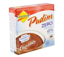 Mistura em pó para pudim Lowçucar sabor chocolate light  30g