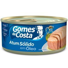 Atum Gomes da Costa sólido em óleo 170g