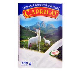 Leite de cabra em pó integral Caprilat 200g