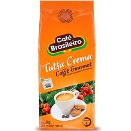 Café Brasileiro Grãos torrados Tutta Crema 1kg