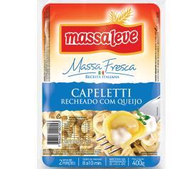 Capeletti Massa Leve queijo 400g