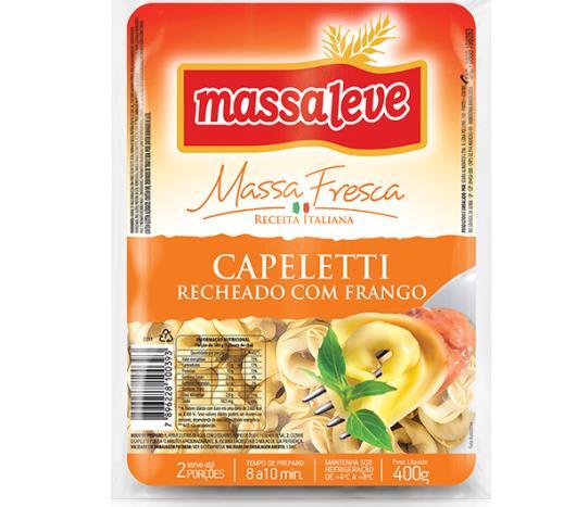 Capeletti Massa Leve frango 400g - Imagem em destaque