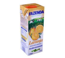 Suco Fazenda de laranja 1L