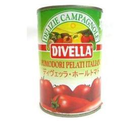 Polpa de tomate pelado divella Pomodori 400g