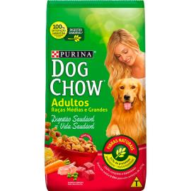 Ração para cães adultos raças de porte médio e grande Dog Chow 1kg